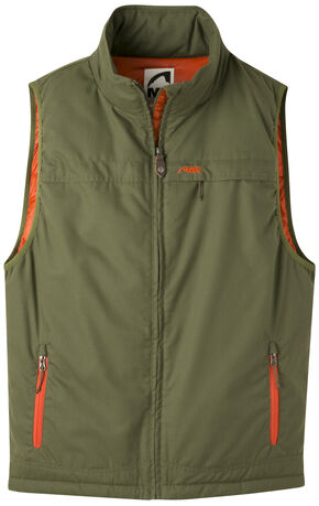 Mountain Khakis Men's Double Down Vest, Green, hi-res