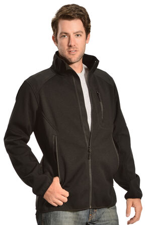Red Ranch Men's Performance Knit-Insert Jacket , Black, hi-res