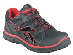 Reebok Men's Sport Grip Shoes - Composite Safety Toe, , hi-res