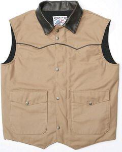 Schaefer Cattleman Canvas Vest, , hi-res