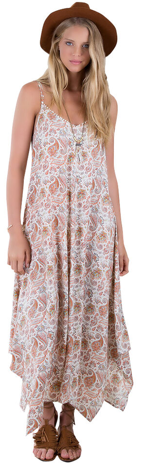 Others Follow Sunday Morning Paisley Print Dress , White, hi-res