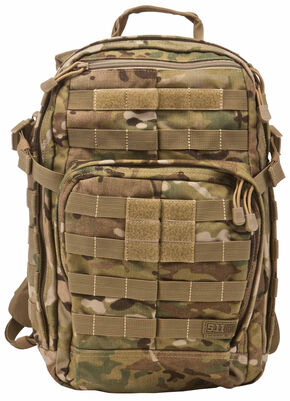 5.11 Tactical Rush 12 Camo Backpack, Camouflage, hi-res