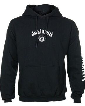 Jack Daniel's Men's Logo Hoodie, Black, hi-res