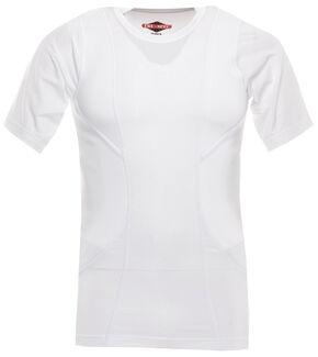 Tru-Spec Men's 24-7 Short Sleeve Concealed Holster Shirt, White, hi-res