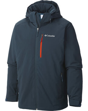 Columbia Men's Gate Racer Softshell Jacket, Dark Grey, hi-res