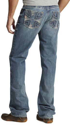 Ariat M5 Maltese Slim Fit Jeans - Straight Leg, Denim, hi-res