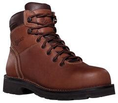 """Danner Workman GTX 8"""" Waterproof Work Boots - Alloy Toe, , hi-res"""