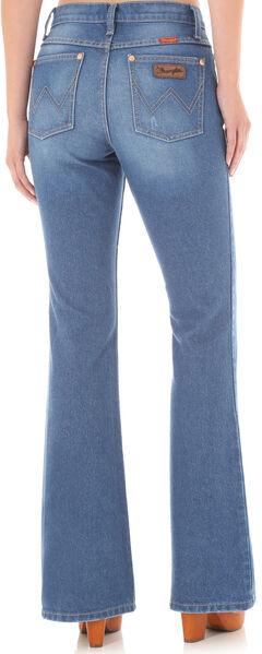 Wrangler Women's High-Waisted Flare Jeans, , hi-res