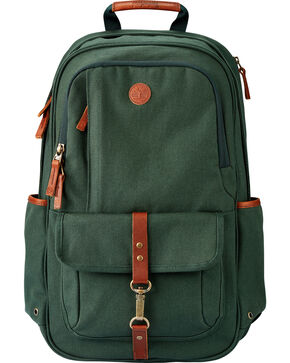 Timberland Walnut Hill 24 Liter Water Resistant Backpack, Hunter Green, hi-res