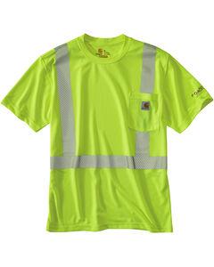 Carhartt Force High-Viz Short Sleeve Class 2 T-Shirt, , hi-res