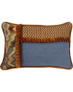 HiEnd Accents Lexington Pieced Ruffle Pillow, , hi-res