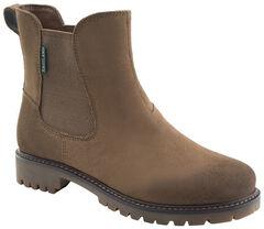Eastland Women's Khaki Suede Ida Chelsea Boots , , hi-res