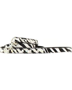 Blazin Roxx Zebra Print Leash, , hi-res