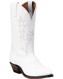 Boulet Tamboreador Blanco Cowgirl Boots - Pointed Toe, , hi-res