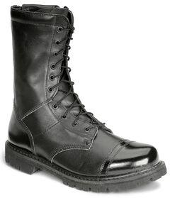 """Rocky 10"""" Zipper Jump Boots - Round Toe, , hi-res"""