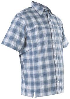 Tru-Spec Men's Blue Plaid 24-7 Cool Camp Shirt , , hi-res