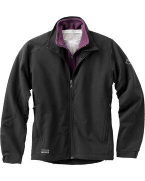 Dri Duck Women's Precision Softshell Jacket, Black, hi-res