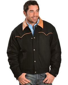Cripple Creek Wool with Contrasting Piping Jacket, , hi-res