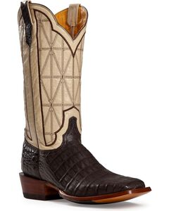 Cinch Classic Caiman Stained Glass Cowboy Boots - Square Toe, , hi-res