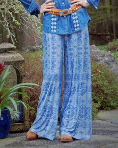 Tasha Polizzi Women's Bandana Print Pants , , hi-res