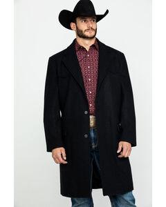 Cripple Creek Men's Black Wool Melton Overcoat , , hi-res