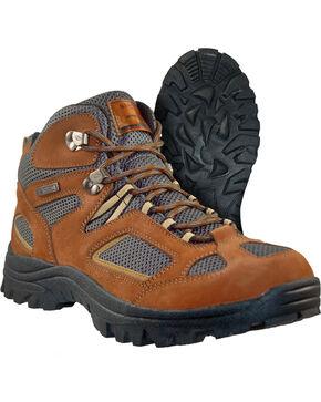 Itasca Men's Ridgeway II Hiking Boots - Round Toe, Brown, hi-res