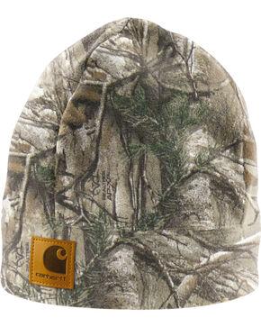 Carhartt Camo Fleece Hat, Camouflage, hi-res