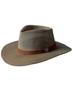 Outback Trading Co. Oilskin Kodiak with Mesh Hat, , hi-res