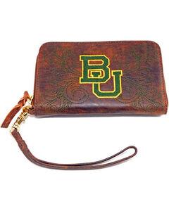 Gameday Boots Baylor University Leather Wristlet, , hi-res