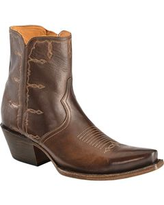 Lucchese Handcrafted 1883 Rhiannon Side-Zip Shootie, , hi-res