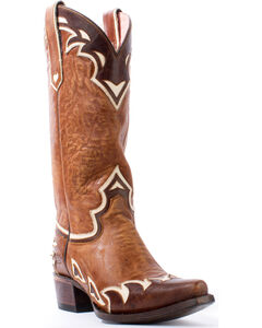 Junk Gypsy by Lane Women's Brown Back 40 Boots - Snip Toe , , hi-res