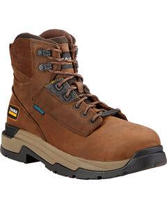 "Ariat Mastergrip 6"" H2O Work Boots - Composite Toe, , hi-res"