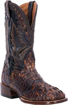 El Dorado Caiman Cowboy Boots - Square Toe, , hi-res