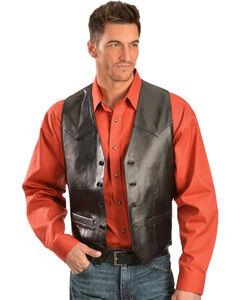 Scully Lamb Leather Vest, , hi-res