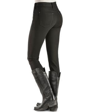 Silver Women's Aiko Black Skinny Ponte Jeans, Black, hi-res