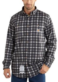 Carhartt Flame Resistant Classic Plaid Shirt - Big & Tall, , hi-res