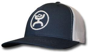 HOOey Youth Boys' Navy Cody Ohl Signature Hat , Navy, hi-res