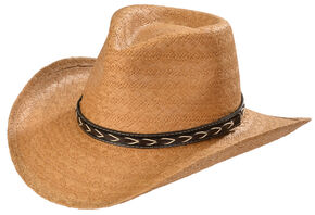 Silverado Women's Jamie Straw Hat, Honey, hi-res
