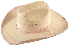 Bullhide Candy Kisses Straw Cowgirl Hat, , hi-res
