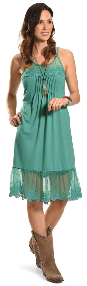 Angel Ranch Women's Blue Endless Summer Dress , Blue, hi-res