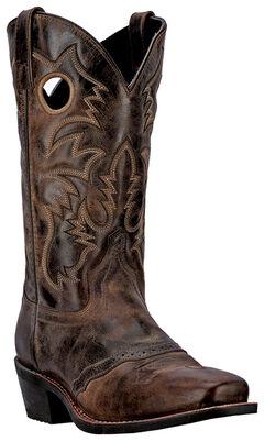 Laredo Pequin Cowboy Boots - Square Toe, , hi-res