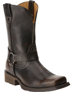 Ariat Rambler Harness Boots - Square Toe, Brown, hi-res