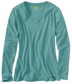 Carhartt Calumet Long Sleeve V-Neck Shirt, , hi-res