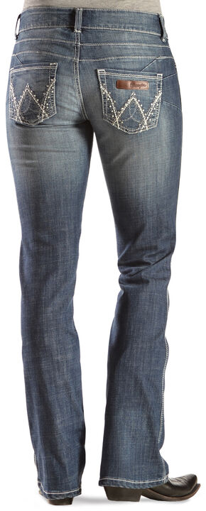 Wrangler Women's Premium Patch Mae Booty Up Bootcut Jeans, Denim, hi-res