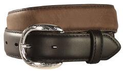 Kids' Lace & Concho Leather Belt - 18-28, , hi-res