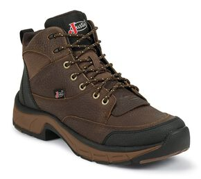 Justin Waterproof Stampede Kettle Casual Shoes, Copper, hi-res