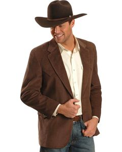 Circle S Corduroy Sport Coat - Big and Tall, , hi-res