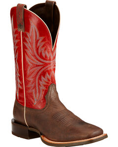 Ariat Cowhand Cowboy Boots - Square Toe , , hi-res