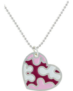 Montana Silversmiths Camouflaged In Love Necklace , , hi-res