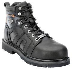 Harley Davidson Men's Chad Steel Toe Lace-Up Boots, , hi-res